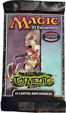 Magic the Gathering Torment Tormento Spanish Language Sealed Booster Pack