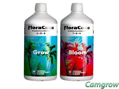 Fornitura General Hydroponics-flora Coco Grow & Bloom 1l Sostanze Nutritive Altamente Concentrato-