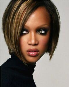 Custom Tyra Banks Hair Style Short Straight Hair 10 In Wig Ebay