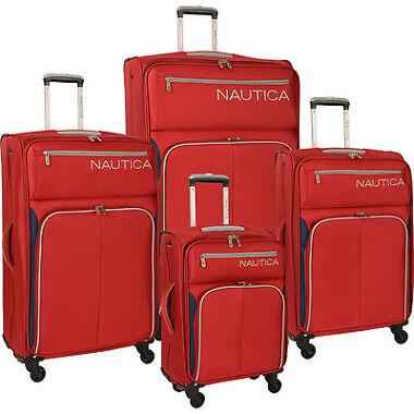 Nautica Ashore 4-Pc. Expandable Spinner Luggage