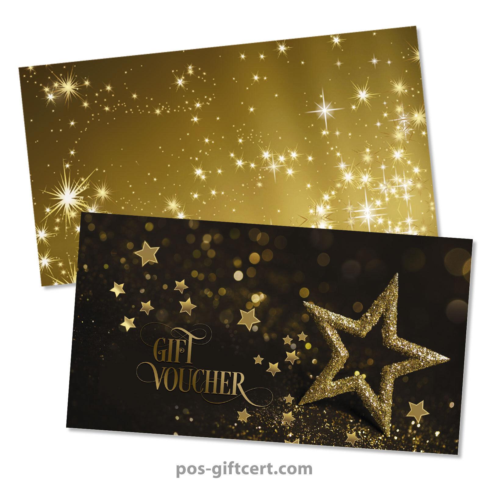 Gift vouchers  envelopes for christmas X1295GB  | Für Ihre Wahl  | Elegante Und Stabile Verpackung