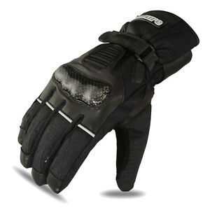 Motorbike Winter Gloves Motorcycle Racing Cowhide Leather Waterproof Black M - London, United Kingdom - Motorbike Winter Gloves Motorcycle Racing Cowhide Leather Waterproof Black M - London, United Kingdom