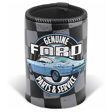FORD MUSTANG SILVER METALLIC CAN COOLER STUBBY HOLDER V8 SUPERCARS