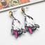 1Pair-Women-Multicolor-Rhinestone-Crystal-Resin-Ear-Stud-Eardrop-Dangle-Earring thumbnail 16