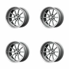 4x American Racing 18x10 Vn510 Draft Wheels Vintage Silver 5x475 5x12065 0