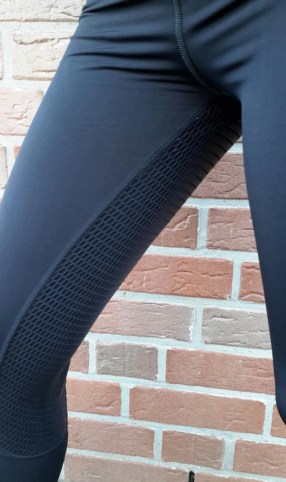 APM-TEC Horse Reithose  Leggings Vollbesatz Silikon  Reithose Gr. L / 38 85264c