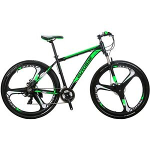 29-034-Mountain-bike-Aluminium-21-Speed-Mens-bikes-Sports-Bicycle-disc-brakes-MTB