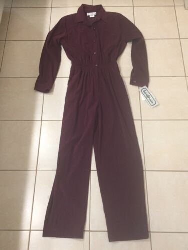 Vintage Saint Germain Paris One Piece Plum Pants J