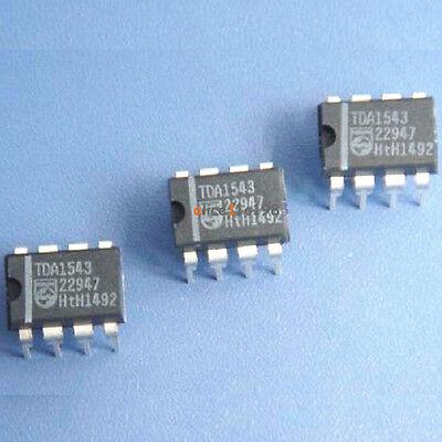 5PCS D/A Converter IC PHILIPS DIP-8 TDA1543 100% New