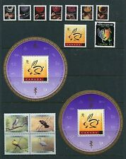 Canada 1999 Year Set NH, 98 Stamps - 11 Sheets & 44 Stamps, Complete By Scott