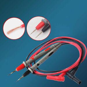 Multimetre-Voltmetre-Cable-Testeur-d-039-aiguilles-minces-Sonde-universelle-Test-Cor