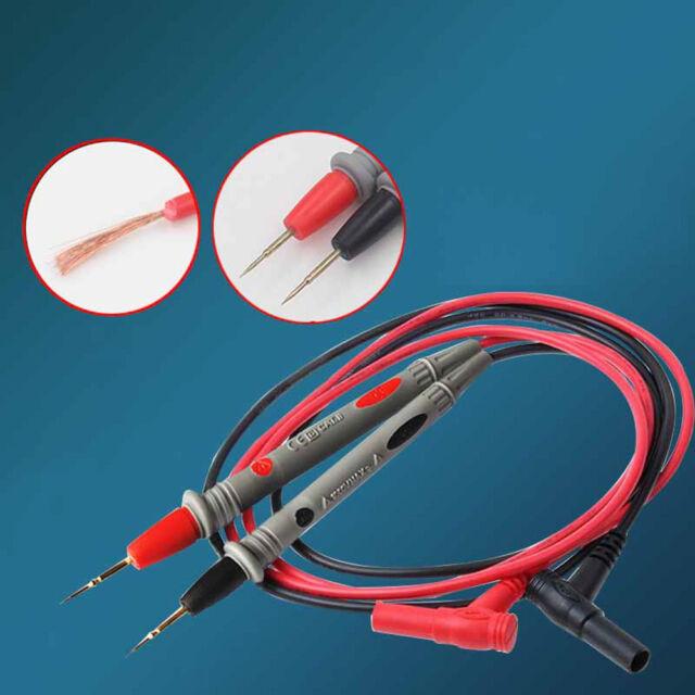 Multimeter Voltmeter Cable Thin Needle Tester Unique Probe Test Lead Cord