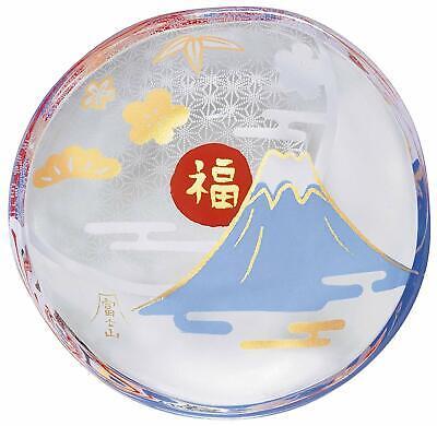 MEDETA Mono  Glass Mame zara Mini Plate DARUMA ADERIA  1pcs  Made in Japan