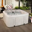 Lifesmart Spas Rock Solid Simplicity 4-Person Hot Tub Spa