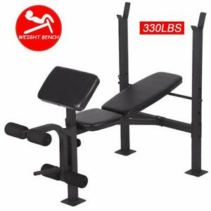 Adjustable-Weight-Lifting-Multi-function-Bench-Fitness-Exercise-Strength-Workout