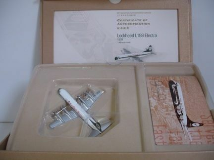 Cathay Pacific L-188  VR-HFO , Electra Commemorative Ed., 1:400 Herpa
