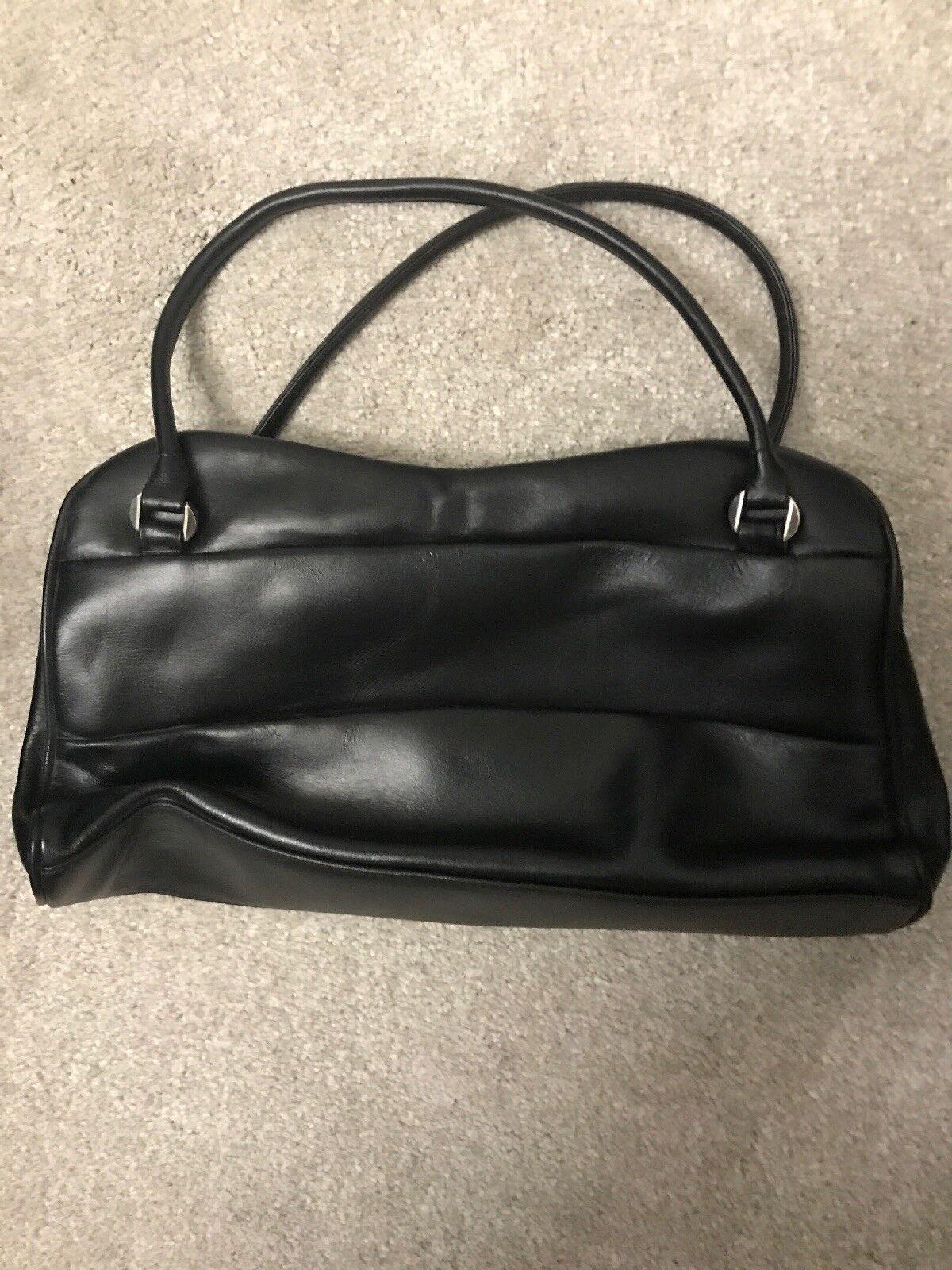 Jane Shilton Black Leather Handbag for sale online  ff0c9105b33f0