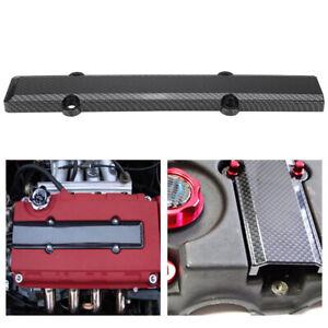 Carbon-Fiber-Look-Engine-Valve-Spark-Plug-Cover-For-Honda-B18-B16-B-Series-Vtec