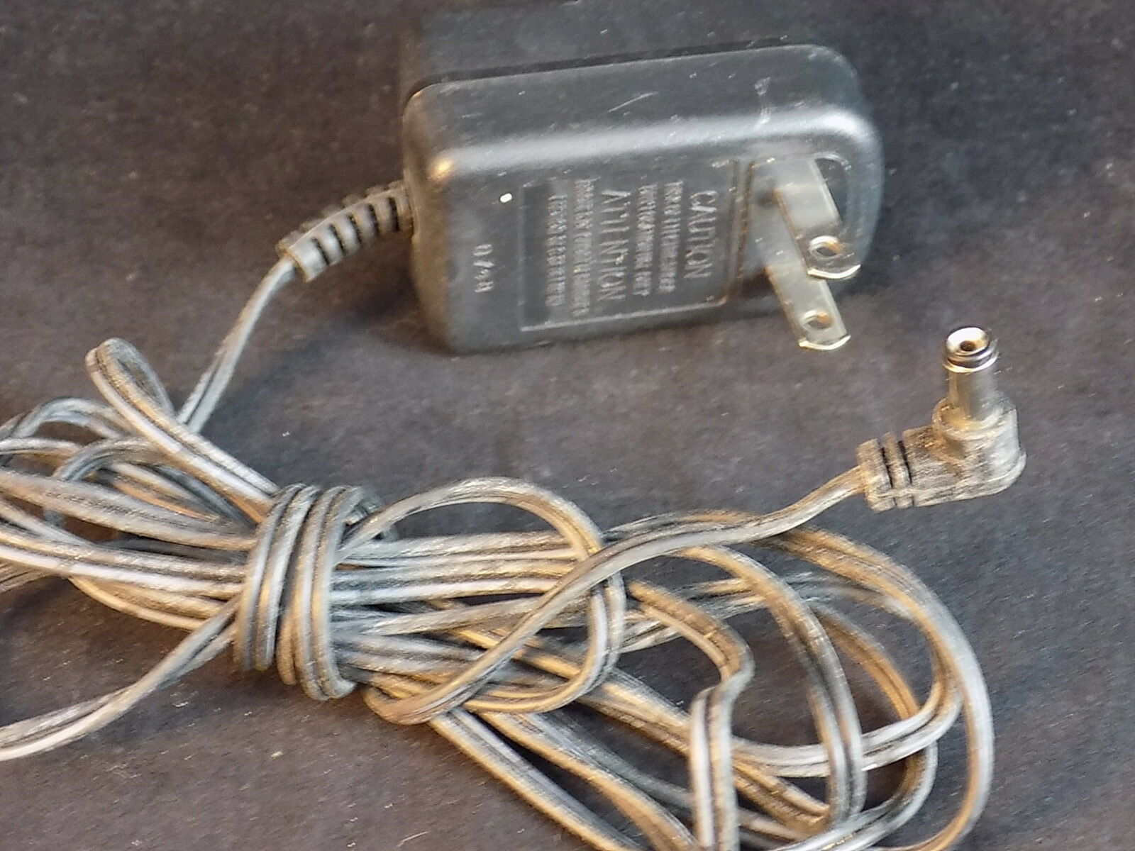 120vac to 9vdc Power Supply Adapter Model U090015D12 Transformer TESTED