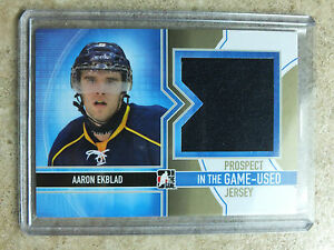 13-14-ITG-In-the-Game-Used-Heroes-Prospects-Jersey-AARON-EKBLAD-Gold-Version-10