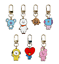 miniature 2 - BT21 Character Simple Keyring Metal Keychain 7types Official K-POP Authentic MD