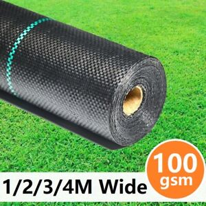 Garden Weed Control Fabric Membrane Ground Sheet Cover Decking Landscaping Mat