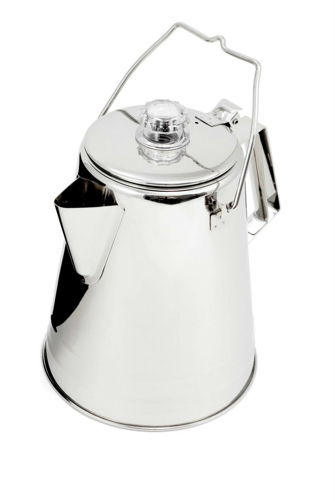Gsi de plein airs-Edelstahl-perkolator coffee - the four Tailles nouveau
