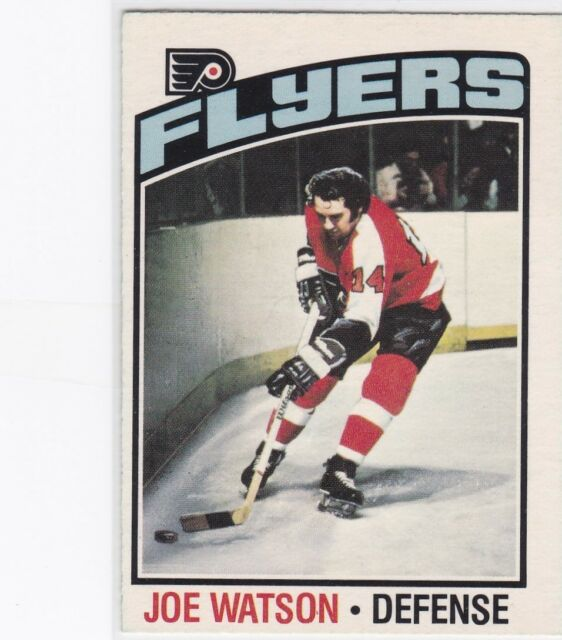 1976-77 O PEE CHEE HOCKEY JOE WATSON #45 FLYERS EXMT/NRMT *59950