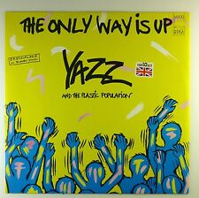 "12"" Maxi - Yazz - The Only Way Is Up - A4258 - blue Vinyl - washed & cleaned"