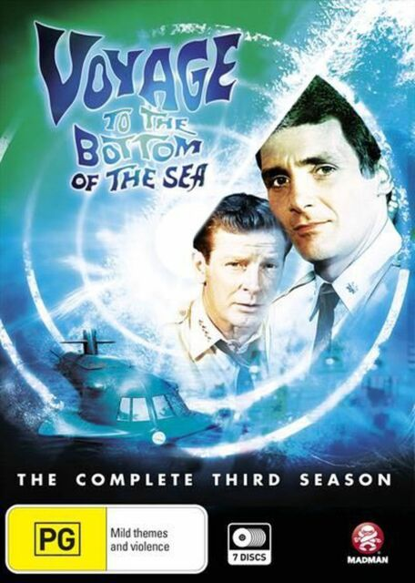 Voyage To The Bottom Of The Sea : Season 3 DVD BRAND NEW SEALED