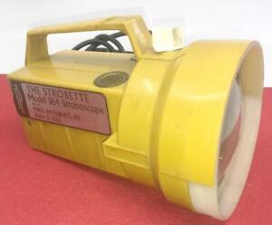 STROBETTE-964-STROBOSCOPE-FLASHLIGHT-VINTAGE-MCM-STEAMPUNK-POWER-INSTRUMENTS-USA