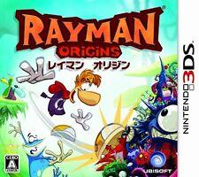 USED Rayman: Origins Japan Import Nintendo 3DS