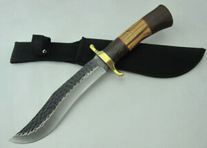 TOP UTILITY SHARP HUNTING RESCUE CAMPING JUNGLE SURVIVAL COMBAT BOWIE KNIFE