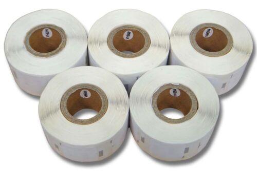 5000 BESCHRIFTUNGS ETIKETTEN WEIß 12x24mm für DYMO Labelwriter 11353