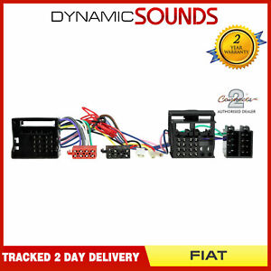 CT10FT01 Parrot SOT T-Harness ISO Wiring Lead for Fiat Qubo 2008-2018
