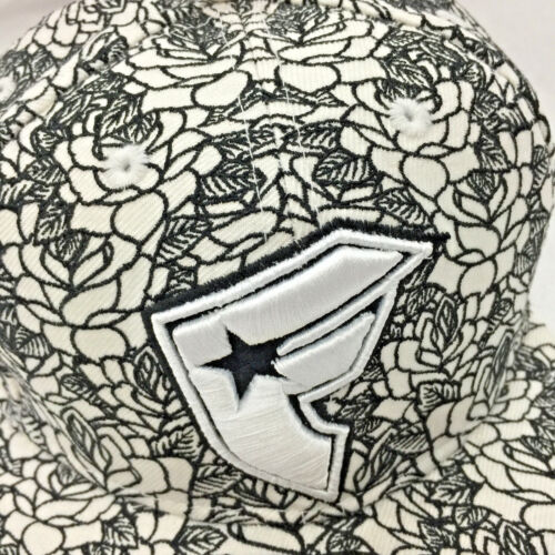 Famous Stars and Straps WhiteBlack Embroidered Hat By New Era
