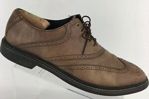 C09976 13 Brogues Haan Cole Mens Hamilton Wingtip Brown Oxfords Pebbled Leather B5nzzf7qW