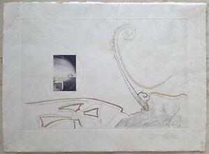 Salvador-Dali-1904-1989-Museale-Original-Radierung-569-Ex-XIV-L-auf-Japan