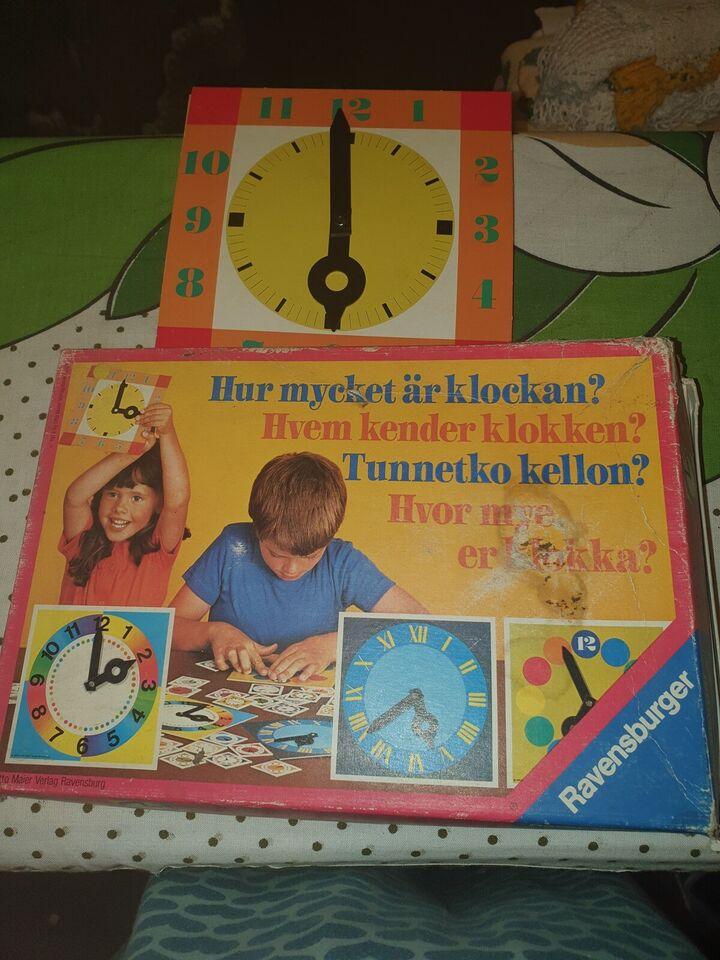 Andet legetøj, Hvem kender klokken, Ravensburger