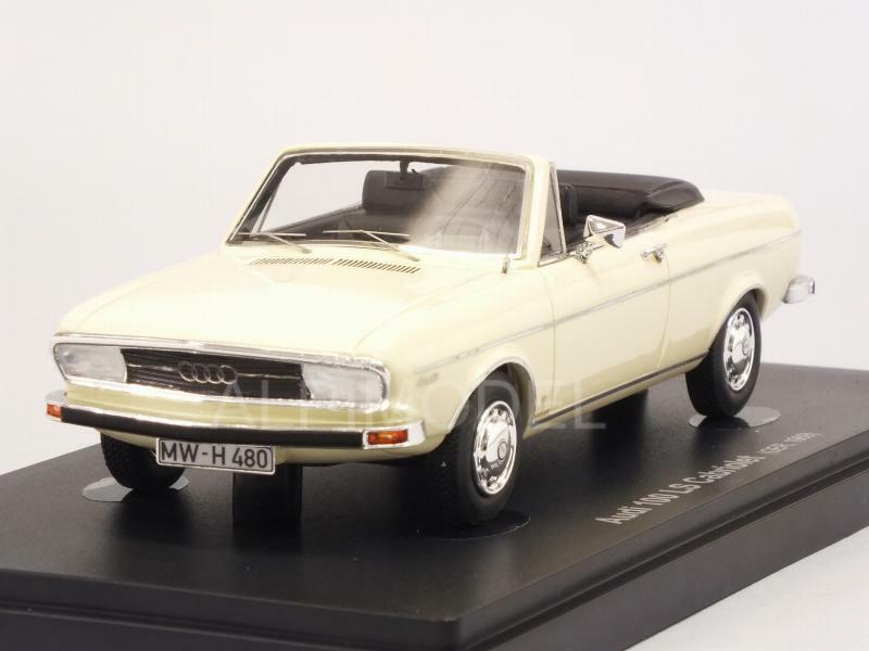 Audi 100 LS Cabriolet 1969 Ivory 1:43 AVENUE 43 60011