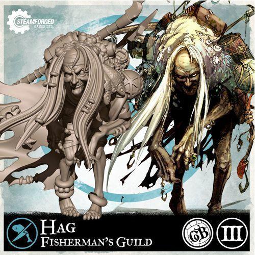 Guild Ball: (Fisherman's Guild) Hag (Season 3) SFGB03004