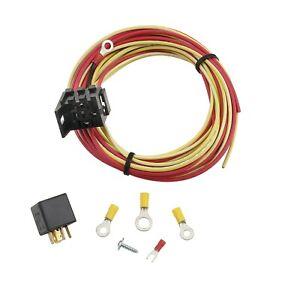 Gasket 40205G Mr Gasket Electric Fuel Pump Harness /& Relay Wiring Kit Mr