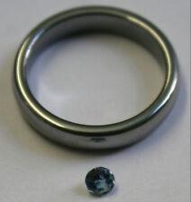 Natural Loose Acquamarina pietre preziose taglio rotondo 3.5mm Sfaccettato 0.2ct Gem aq40