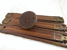 Antique Folmer Graflex Brass/Wood Camera Tripod