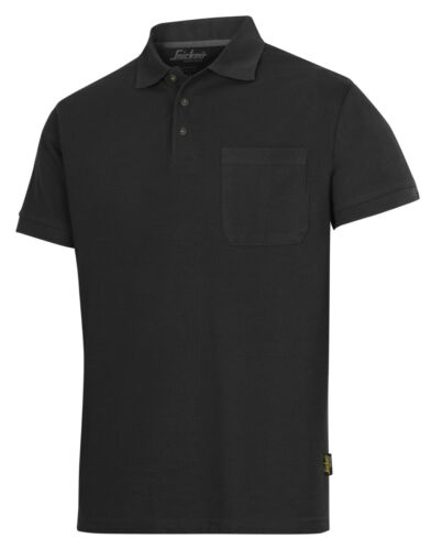 Snickers 2708 Polo T Shirt Short Black Blue Green Red White Navy POLY//COTTON