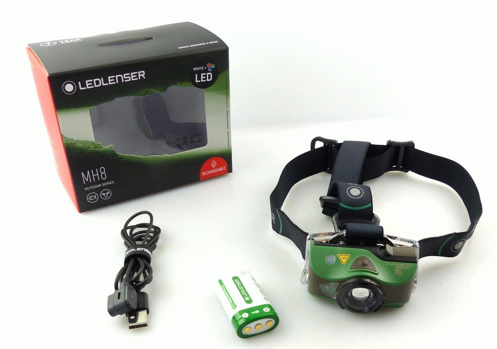 Ledlenser 500951 LED Kopflampe Stirnlampe MH8 MultiFarbe 600 Lumen Jagd Angeln  | Hohe Qualität und Wirtschaftlichkeit