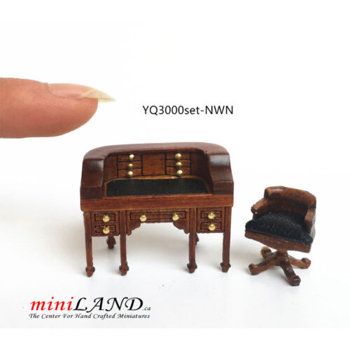 """1:48 1//4/"""" quarter scale chaise lounge sofa RED Top quality dollhouse miniature"""