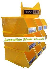Image is loading Stor-Pak-Size-10-Fischer-Storage-Boxes-10-  sc 1 st  eBay & Stor-Pak Size 10 Fischer Storage Boxes 10 Pack PSIH-061 | eBay