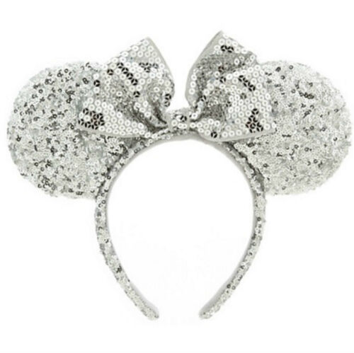 BNWT Minnie Mouse Ears Headband Disney Land World Sorcerer Mickey Rose Gold