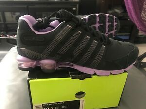 Details about Nike Air Shox nz 2.0 (407155 001) Black Black Lilac mens size 10.5 **NEW**